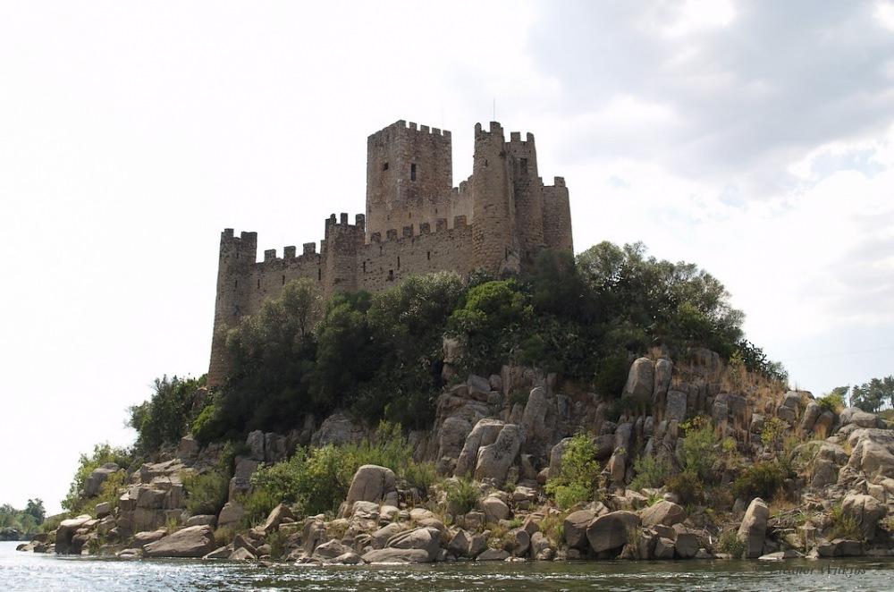 photoblog image Almourol Castle