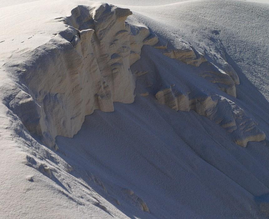 photoblog image Tumbling sand