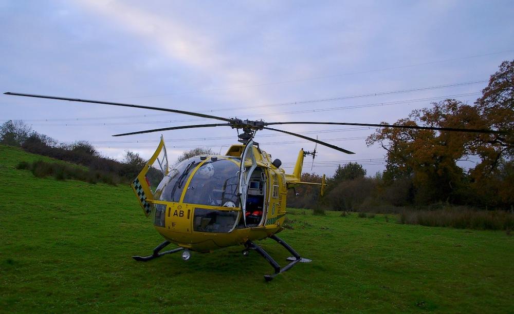 photoblog image Hampshire and Isle of Wight Air Ambulance