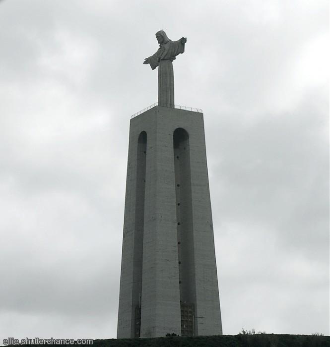 photoblog image Statue of Christ at Lisbon