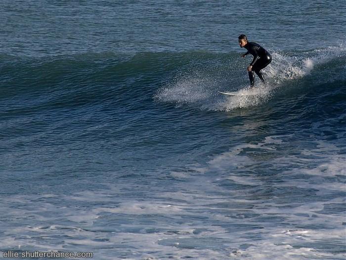 photoblog image Surfer at Cascais