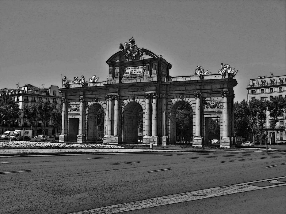 photoblog image La Puerta de Alcalá