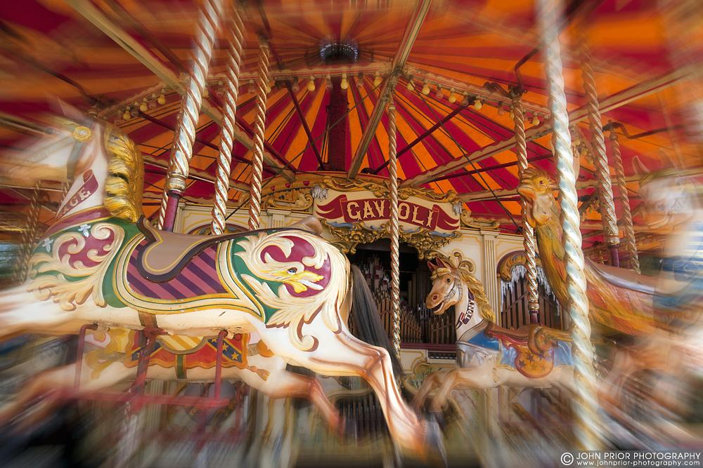 photoblog image Steam gallopers carousel.
