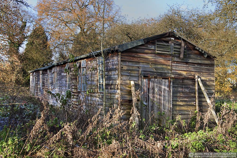 photoblog image The old shed
