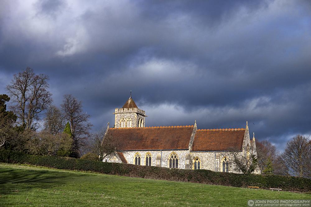 photoblog image Hughenden Church