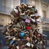 The love padlocks of Lecce