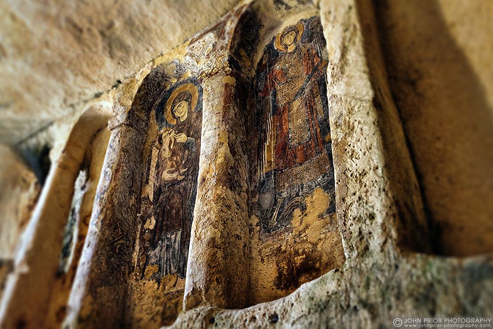 photoblog image Rupestrian Cave Church, Matera, Southern Italy