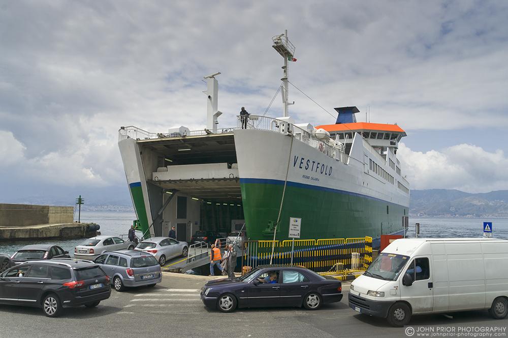 photoblog image The ferry to Sicily