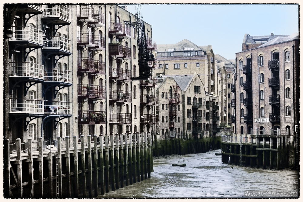photoblog image Java Wharf, Shad Thames
