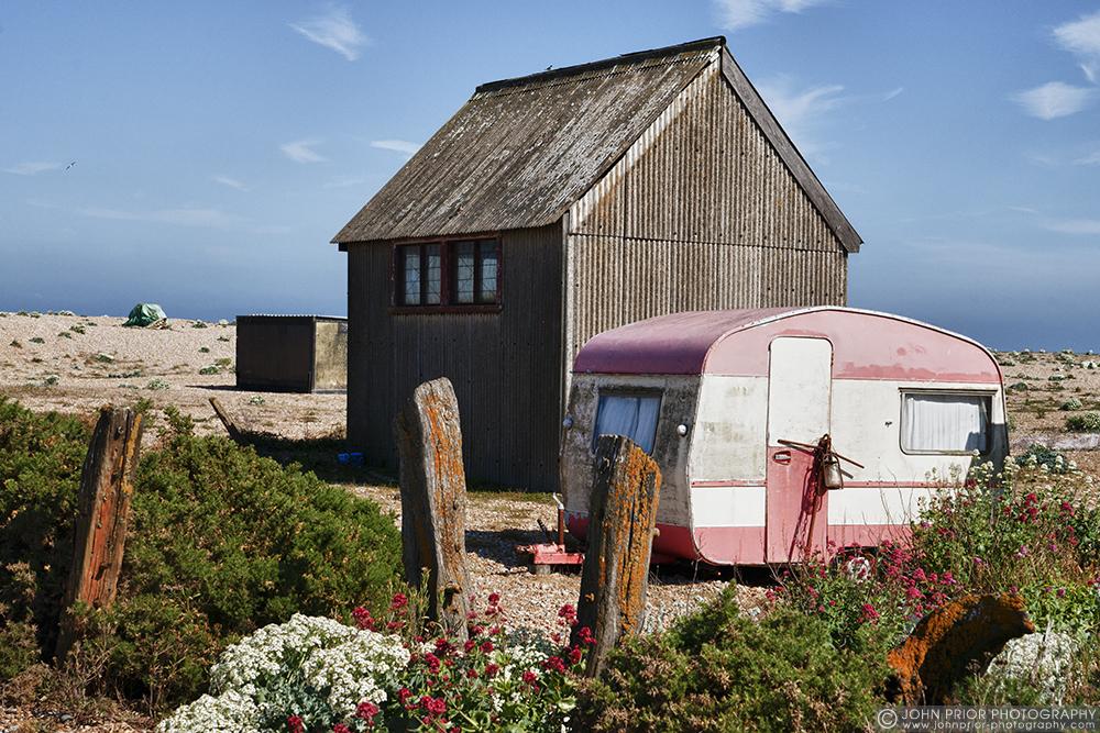 photoblog image The old caravan