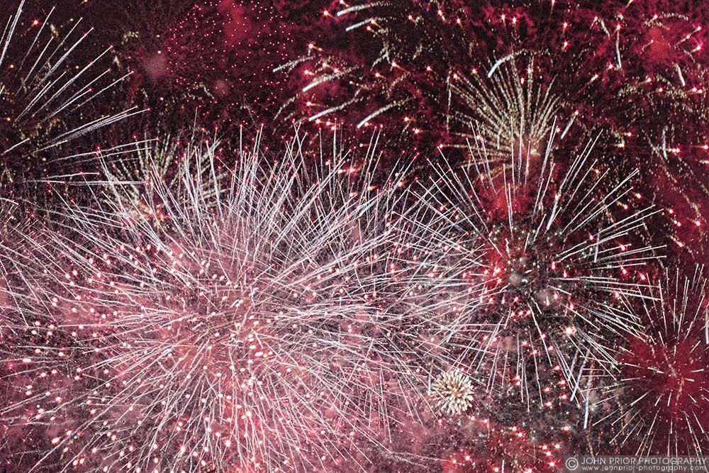 photoblog image Fire flowers