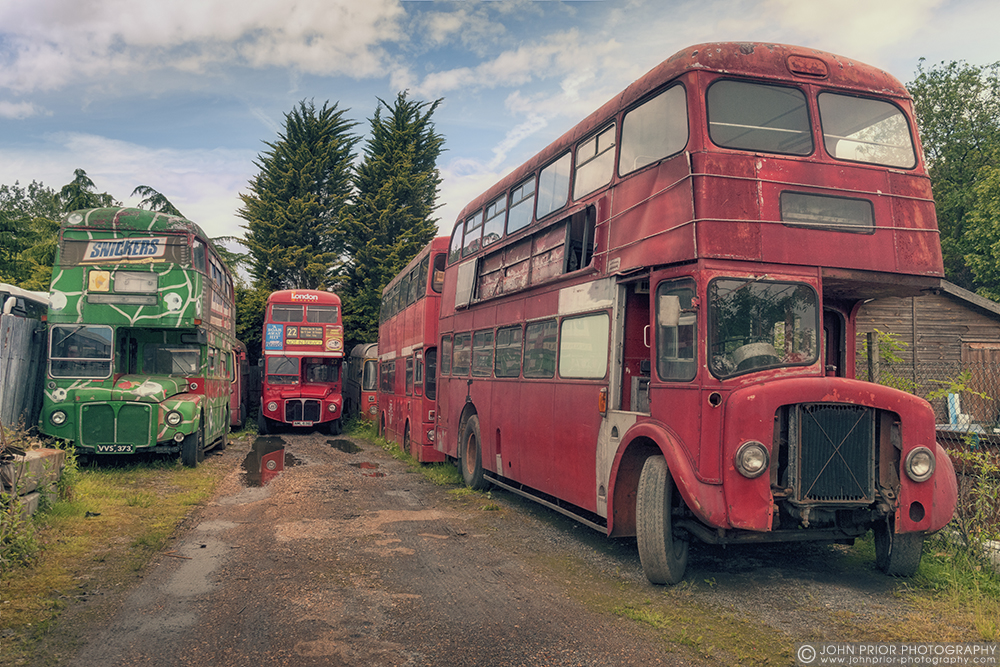 photoblog image On the buses
