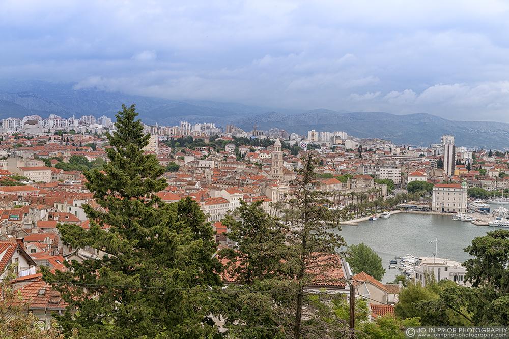 photoblog image Overview of Split