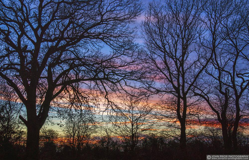 photoblog image Winter sunset