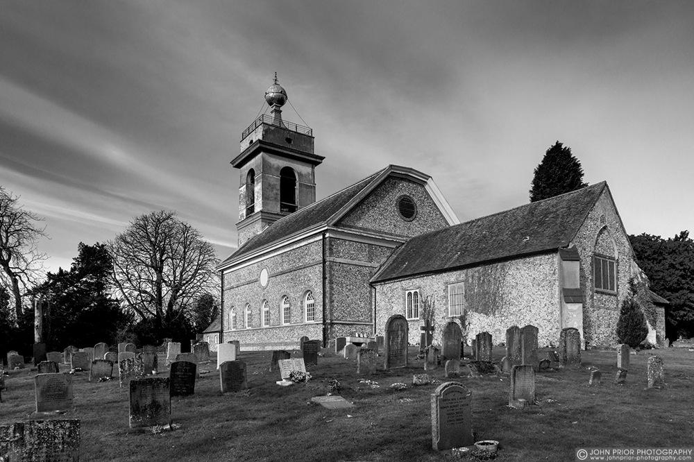 photoblog image St Lawrences's Church, West Wycombe