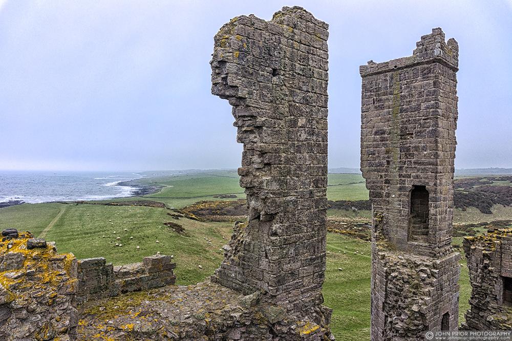 photoblog image Dunstanburgh Castle view