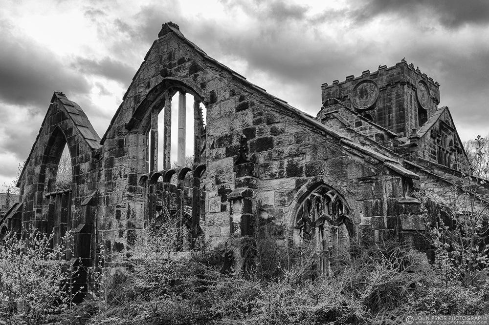 photoblog image Heptonstall old church