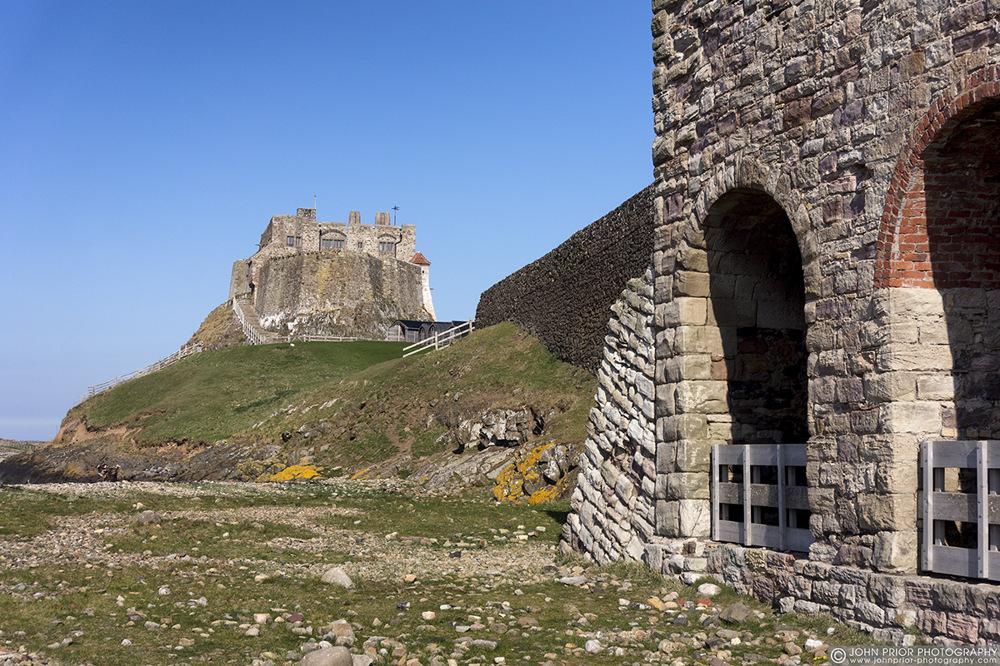 photoblog image Lindisfarne Lime Kilns