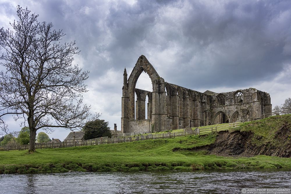 photoblog image The ruined Priory