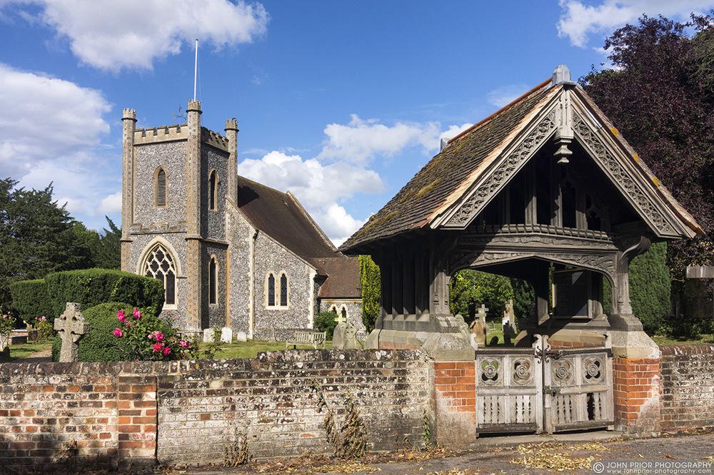 photoblog image Remenham Church of St Nicholas.