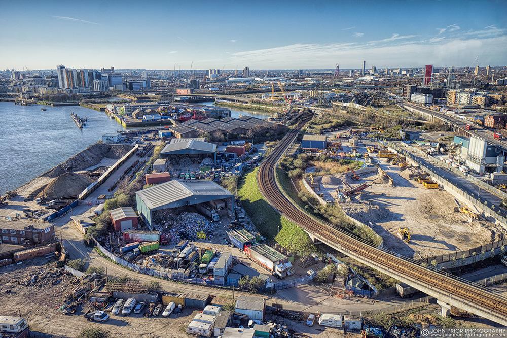 photoblog image Docklands