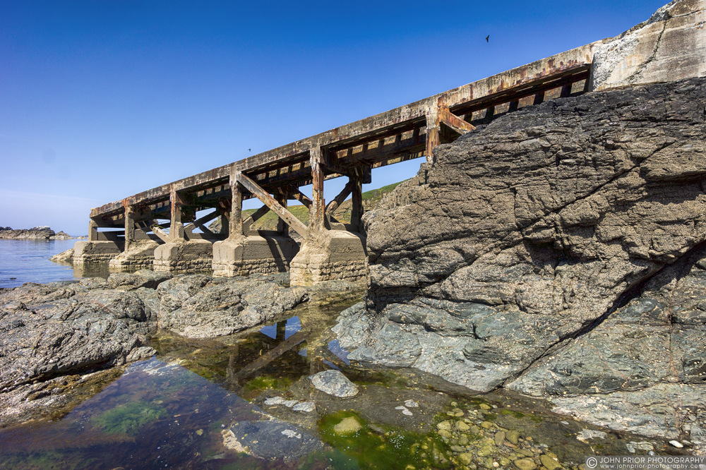 photoblog image Old lifeboat ramp