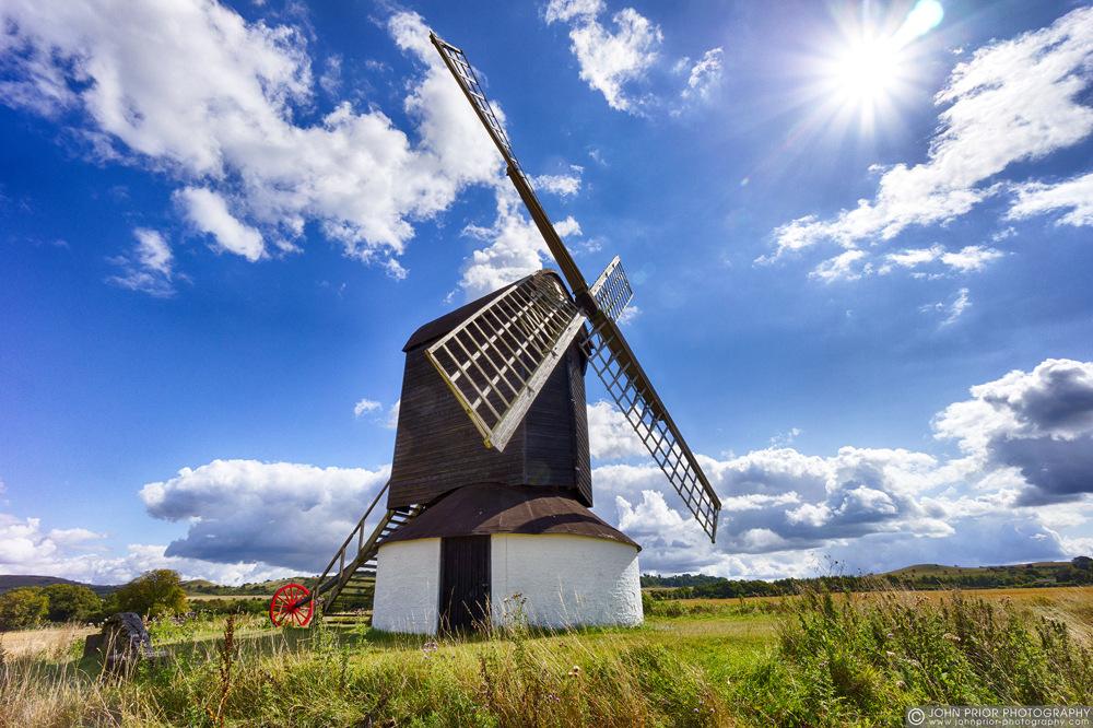 photoblog image Post Mill