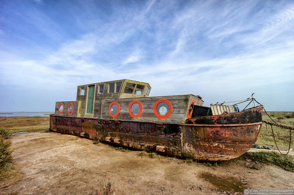 photoblog image At rust on the marsh