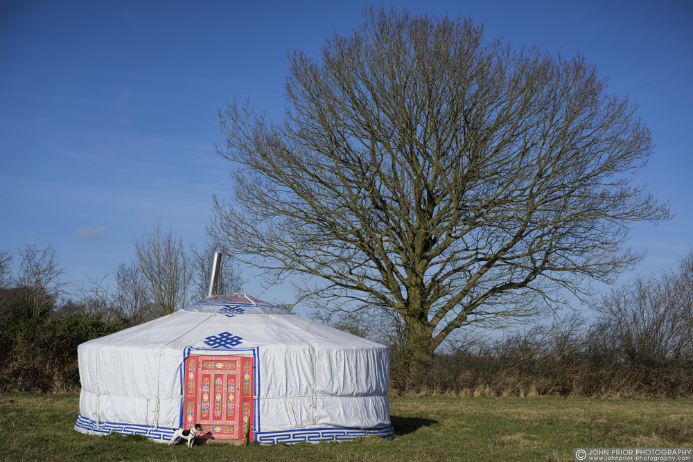 photoblog image Home is where the Yurt is
