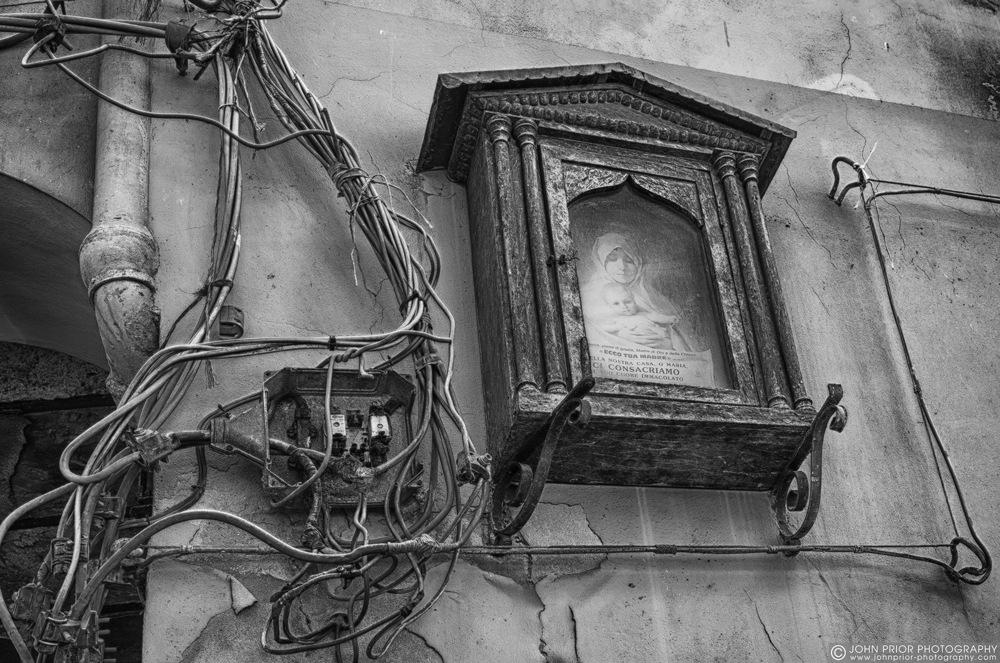 photoblog image Agrigento wiring