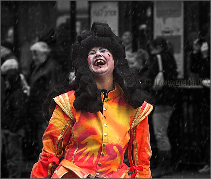 photoblog image Happy in the rain