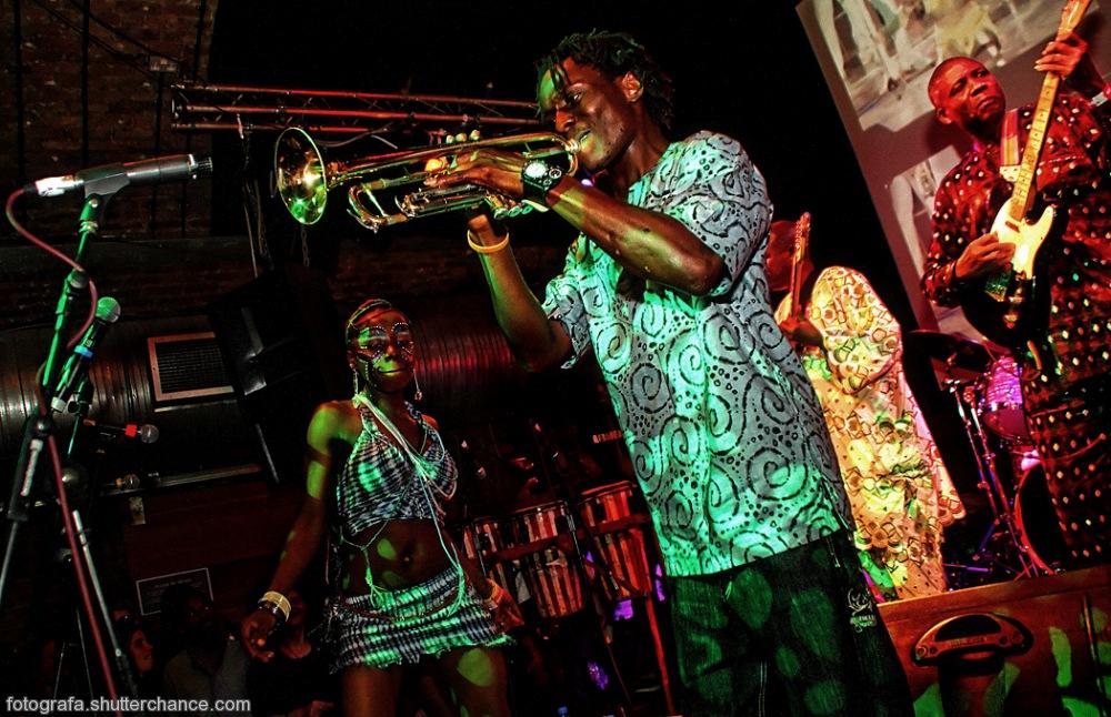photoblog image Fela's Egpyt 80 Band Live @ Cargo