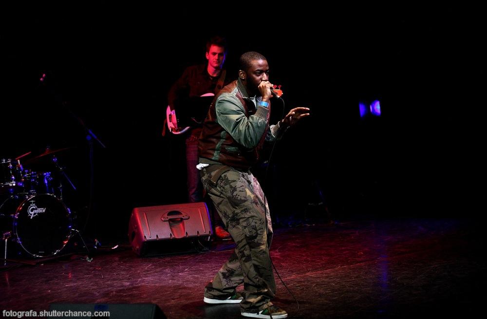 photoblog image Bashy Live @ The London Jazz Festival