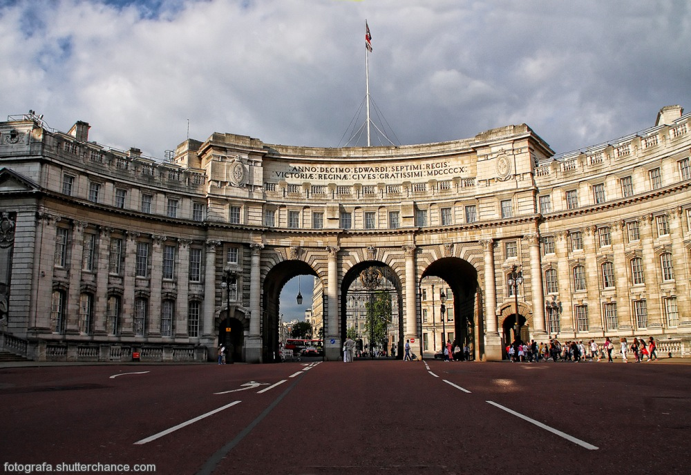 photoblog image Admiralty Arch - Pall Mall