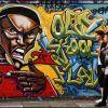 E1 Street Art  #1 - On Da East Side
