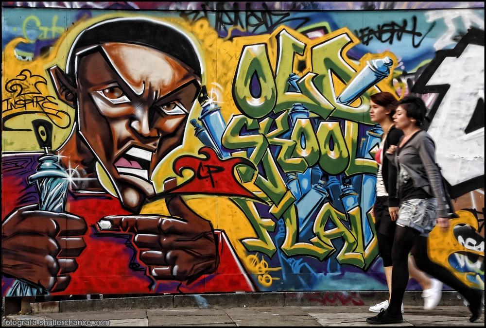 photoblog image E1 Street Art  #1 - On Da East Side