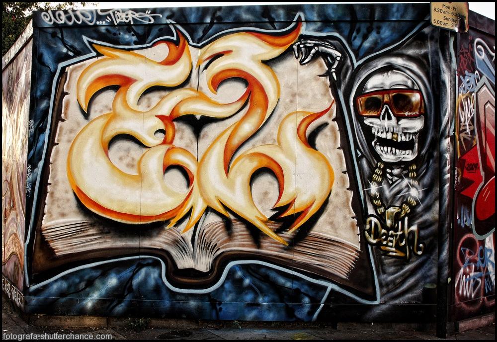 photoblog image E1 Street Art  #2 - On Da East Side