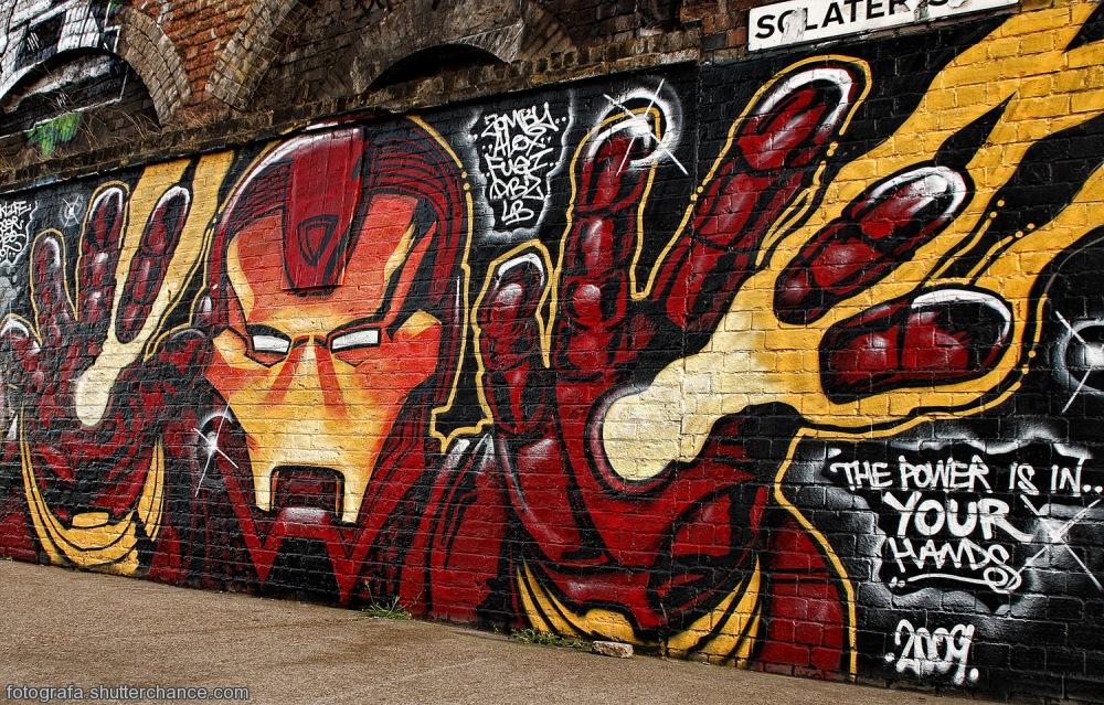 photoblog image E1 Street Art  #3 - On Da East Side