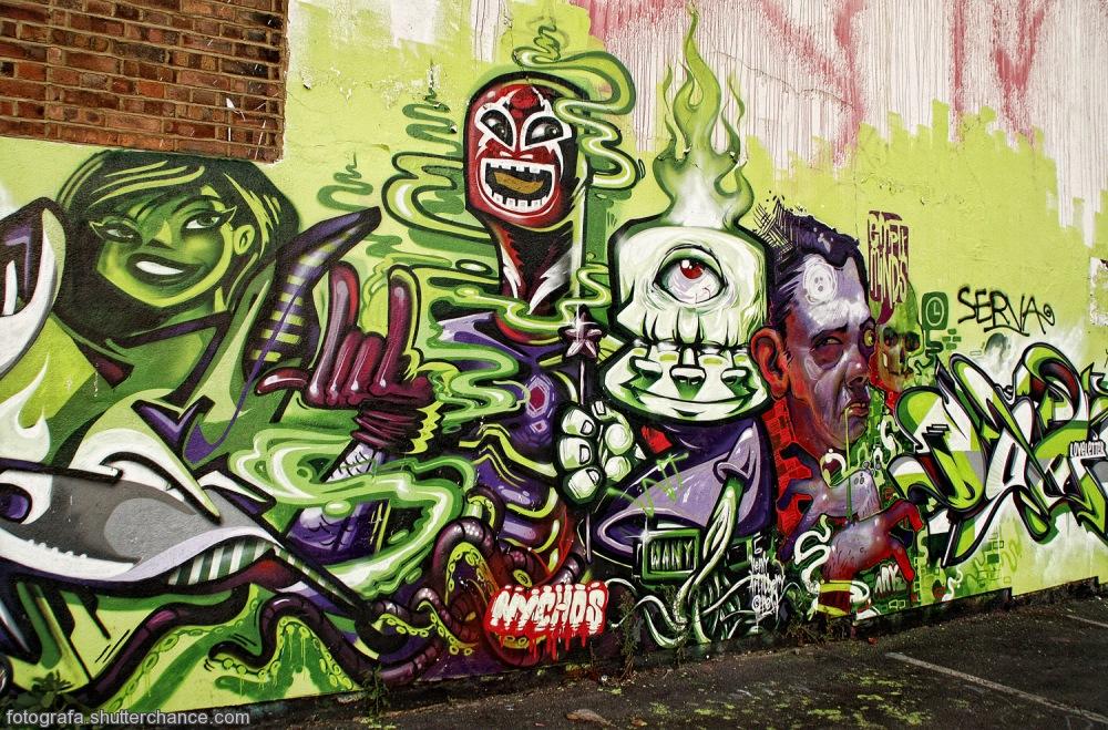 photoblog image E1 Street Art  #5 - On Da East Side