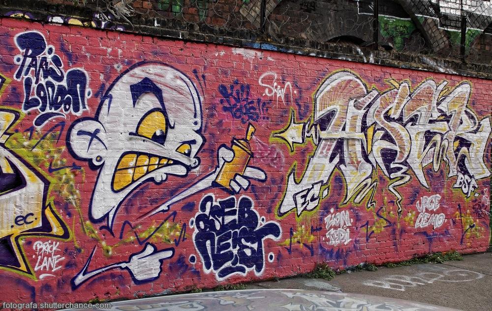 photoblog image E1 Street Art  #8 - On Da East Side