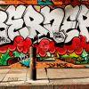 E1 Street Art  #17 - On Da East Side