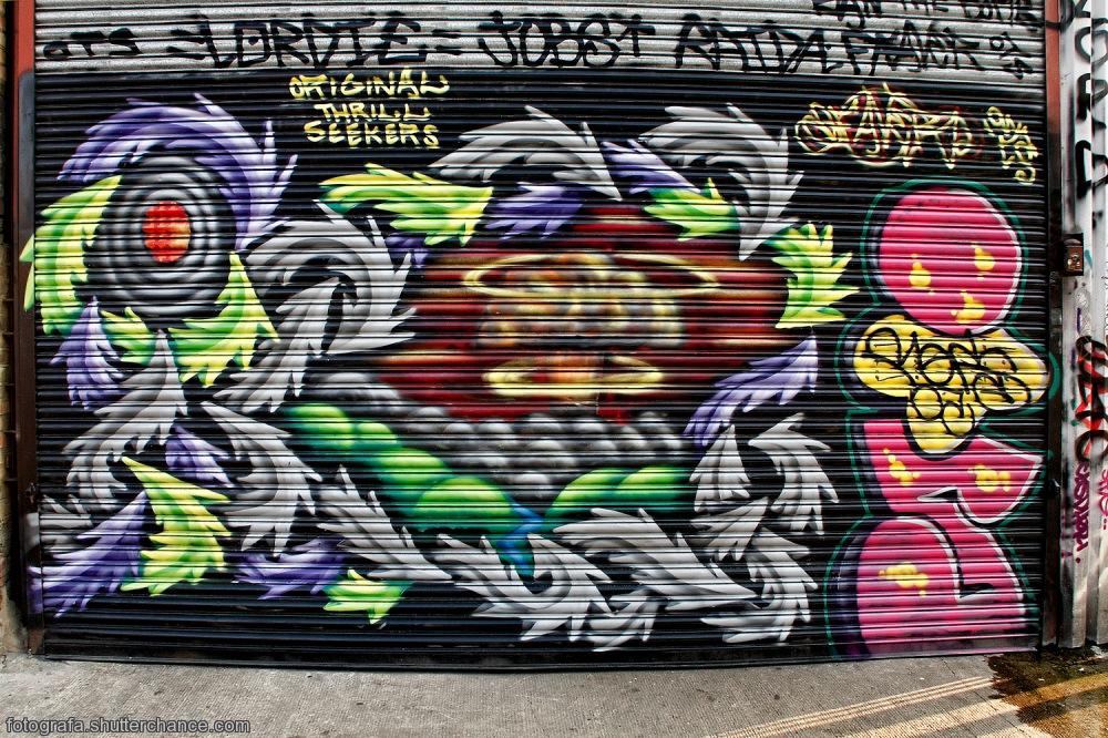photoblog image E1 Street Art  #16 - On Da East Side
