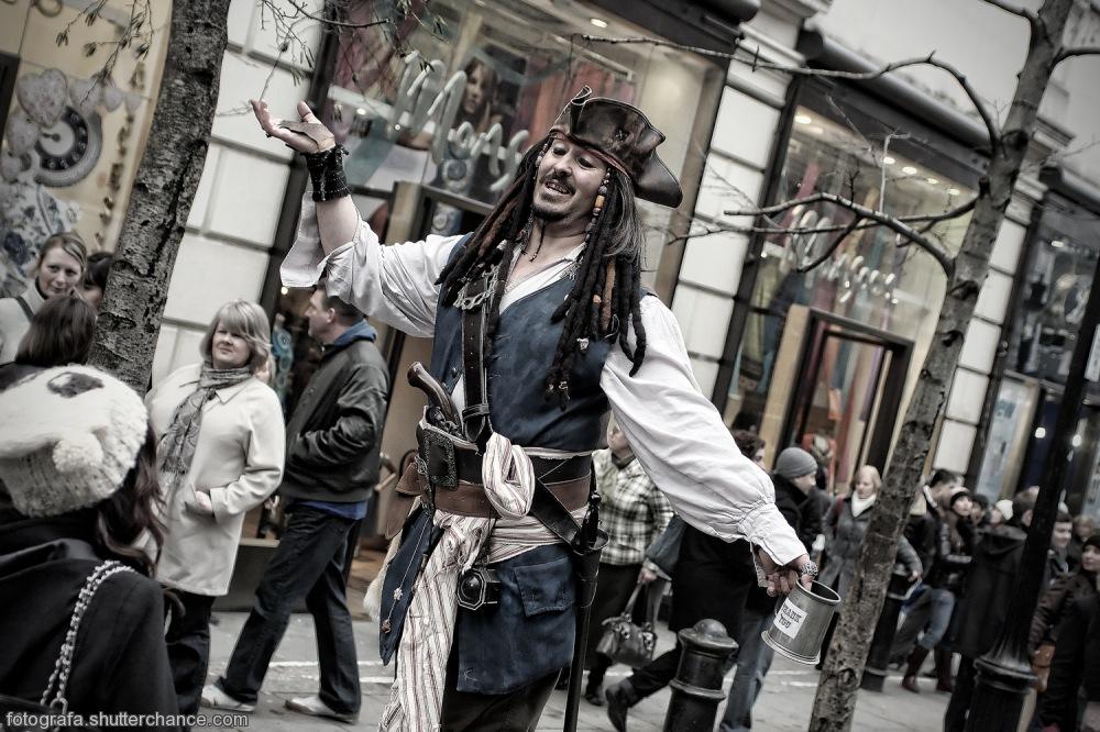 photoblog image Britain's Got Talent -The Immortal Captain Jack Sparrow