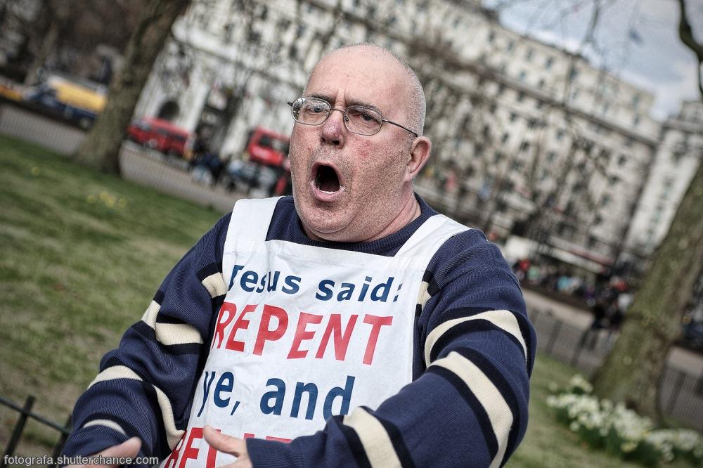 photoblog image The Testimonial Preacherman