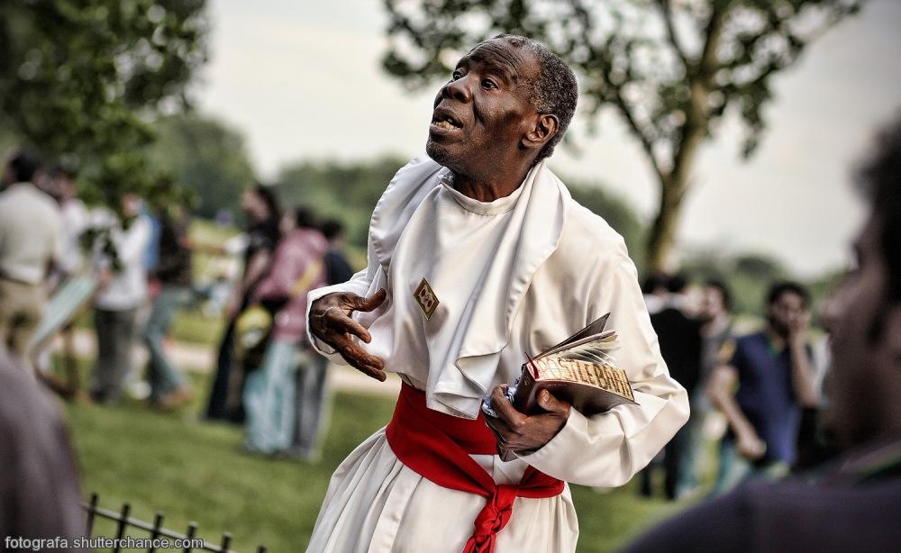 photoblog image The Preacher Man - Brother Jero #3