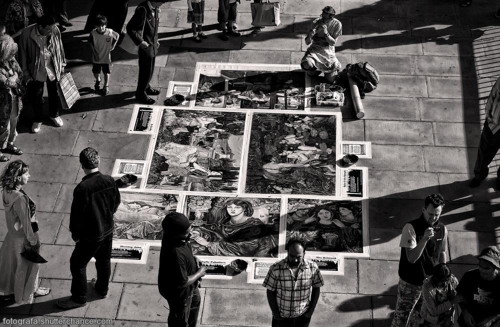 photoblog image Along The South Bank - Street Art #5 BW