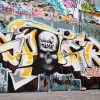 Along The South Bank - Street Art #7
