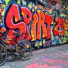Along The South Bank - Street Art #9