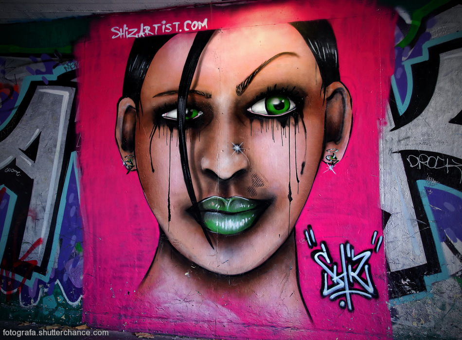 photoblog image Along The South Bank - Street Art #12