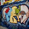 Along The South Bank - Street Art #13